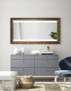 MIRROR WOOD LED PANDIA