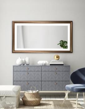 MIRROR WOOD LED ZEMAN