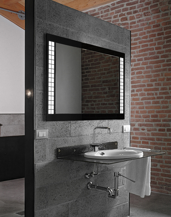 MIRROR CUBI LED