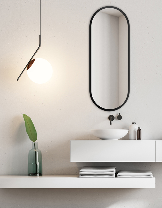 MIRROR KORIA BLACK