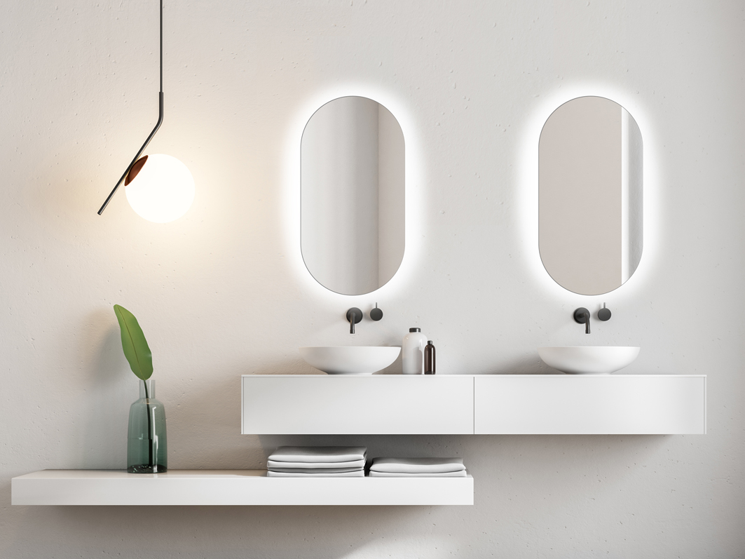 MIRROR KORIA LED SIMPLE DESIGN