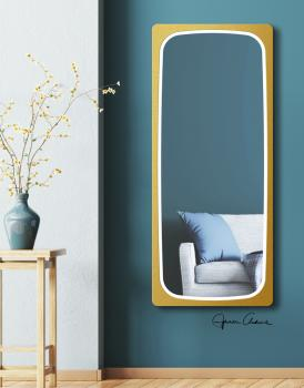 MIRROR LED FELONI GOLD