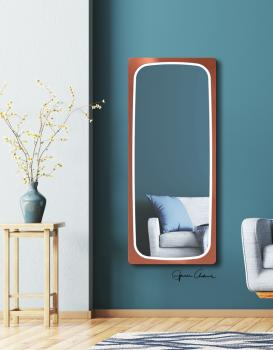 MIRROR LED FELONI COPPER