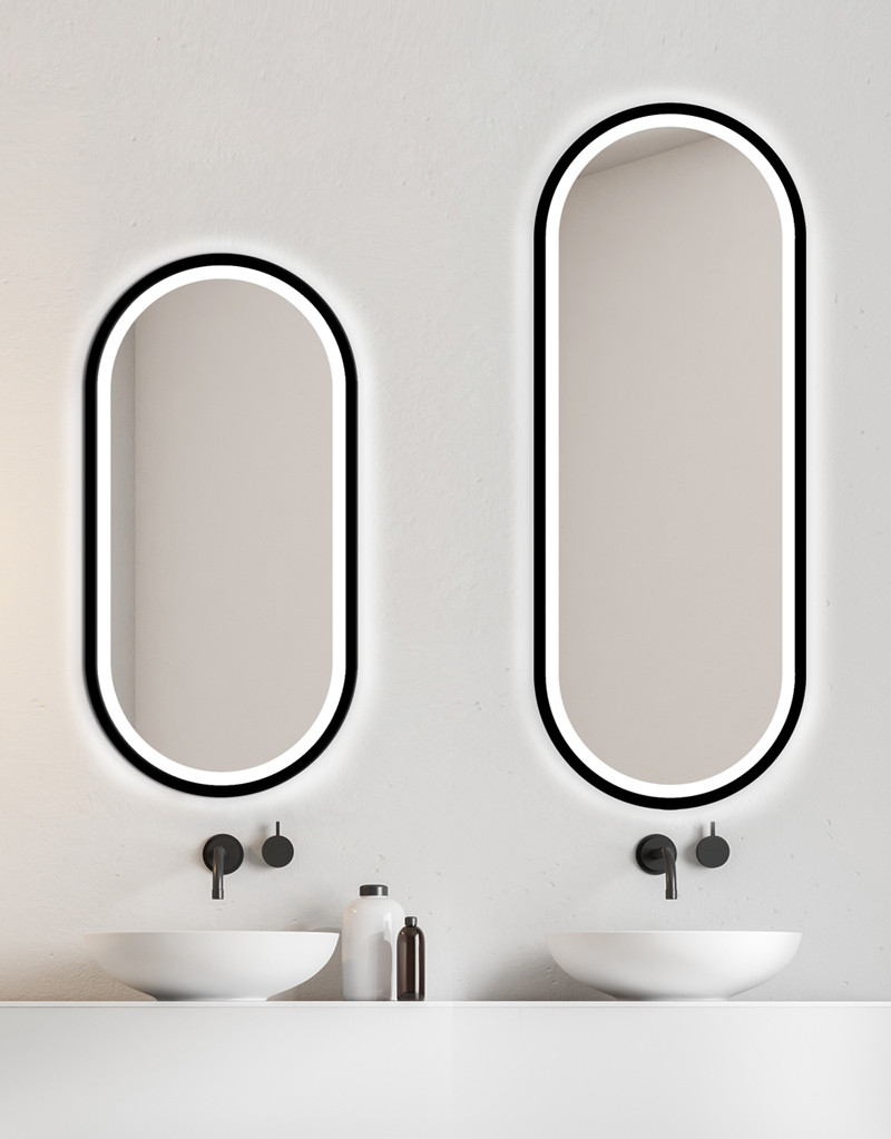 MIRROR LED KORIA BLACK