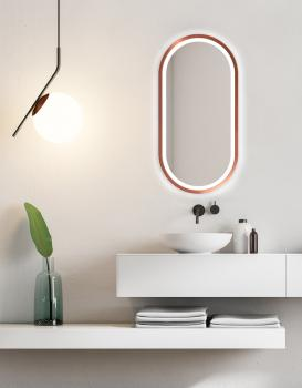 MIRROR LED KORIA COPPER