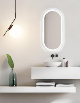 MIRROR LED KORIA WHITE