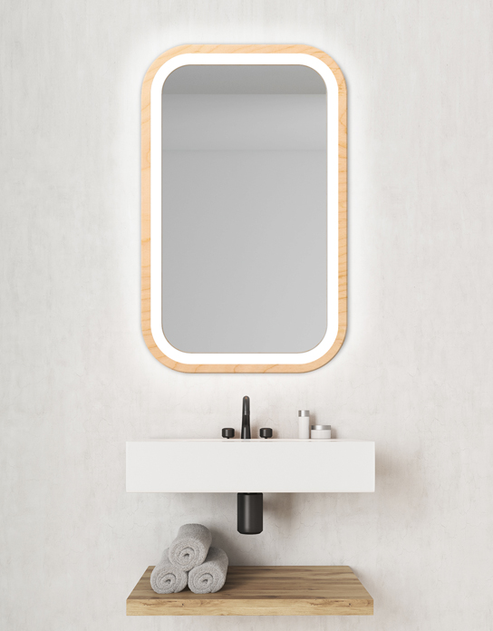 MIRROR LED MIRA NATURAL