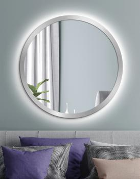 MIRROR LED SCANDINAVIA BOLD Silver