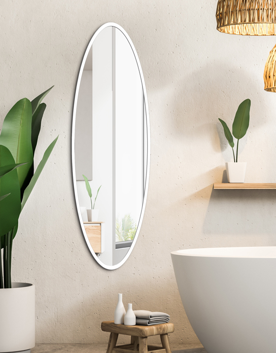 MIRROR MALOMA WHITE