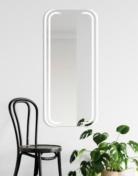 MIRROR MEZALI LED White