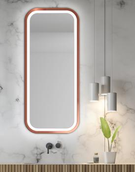 MIRROR LED MIRA COPPER