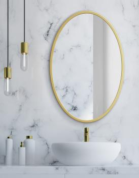 MIRROR OVAL GOLD