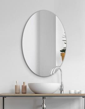 MIRROR OVAL SIMPLE DESIGN