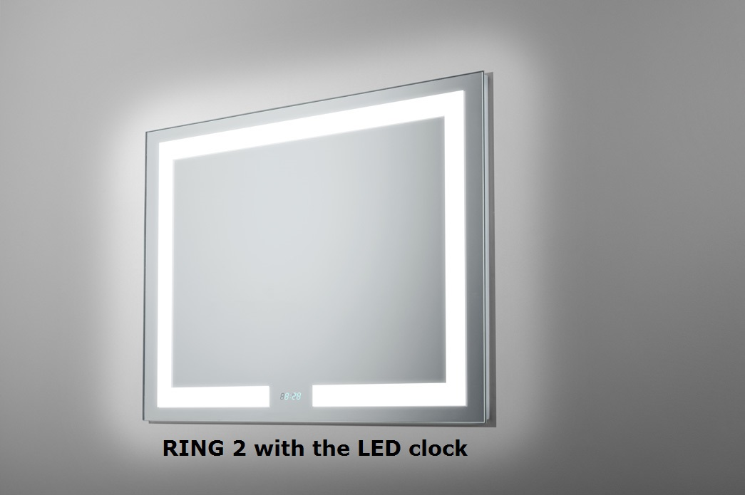 MIRROR RING 2 LED