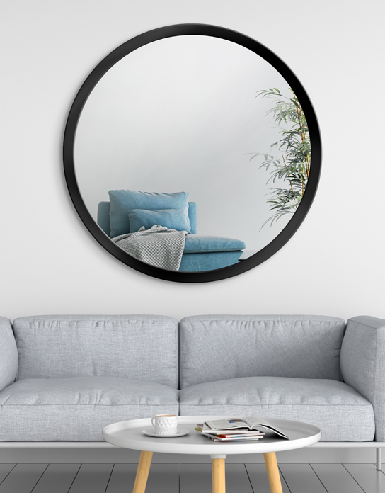 MIRROR SCANDINAVIA BOLD Black