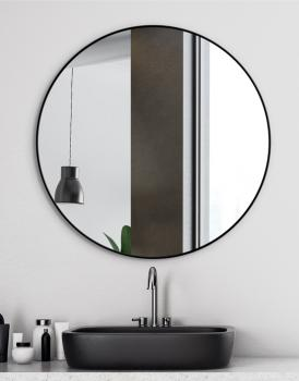 MIRROR SCANDINAVIA DELICATE BLACK