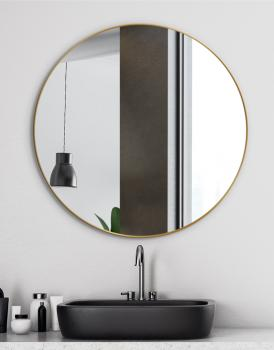 MIRROR SCANDINAVIA DELICATE GOLD