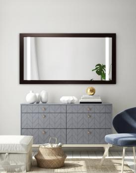 MIRROR SENSO WOOD LED
