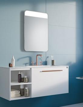 MIRROR SHELF LED