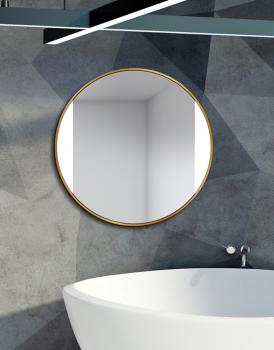 MIRROR LED SIDES GOLD